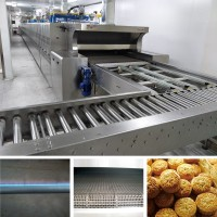 Tunnel oven production line