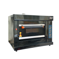 Yumai luxury 1 deck 2-layer gas oven