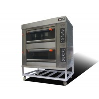 Yumai luxury 2 deck 4-layer gas oven