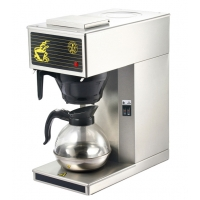 stainless steel electric distilling coffee maker