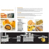 HD-988 Automatic Pastry Production Line for pastry/mooncake/green bean bread