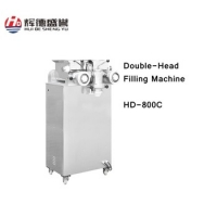 HD-800C Double Head filling machine for pastry,moon cakes,crisp with fillings