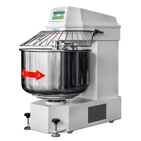Heavy duty Double speed double action Dough Spiral Mixer 25Kg Dough mixer YMJ-25
