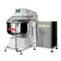 Heavy Duty Turn over formula Double acting double speed Dough Spiral Mixer 50KG Dough mixer YMF-50
