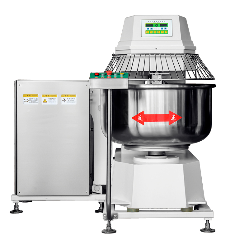 Heavy Duty Turn over formula Double acting double speed Dough Spiral Mixer 75KG Dough mixer YMF-75