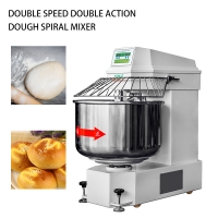 Heavy duty Double speed double action Dough Spiral Mixer 125Kg Dough mixer YMJ-125(Ordinary)
