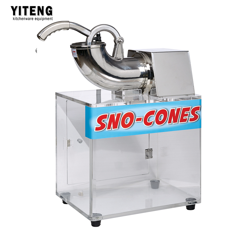 Factory direct Snow Cone Machine Commercial electric ice machine fruity ice cream machine ZY-SB130