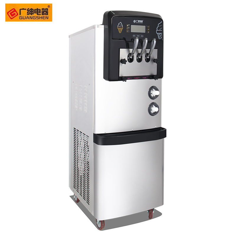 BX Stainless Steel Vertical Ice Cream Making Machine Ice Cream Machine BX488C