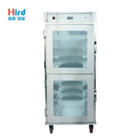 Hird HUHC9MB Visible internal conditions and large capacity Food Warmer Showcase