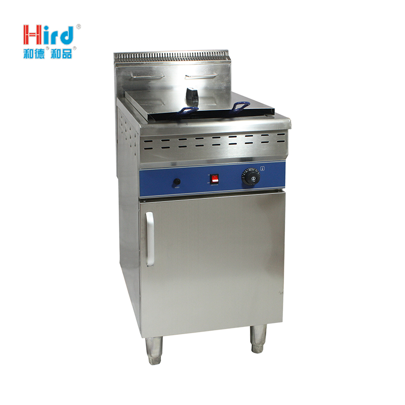 Hird HGF-481/C Convenient energy saving Electric/Gas Fryer with Cabinet
