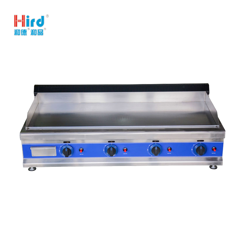 Hird HGT-1100 large area Easy to clean high quality Counter Top Gas Griddle