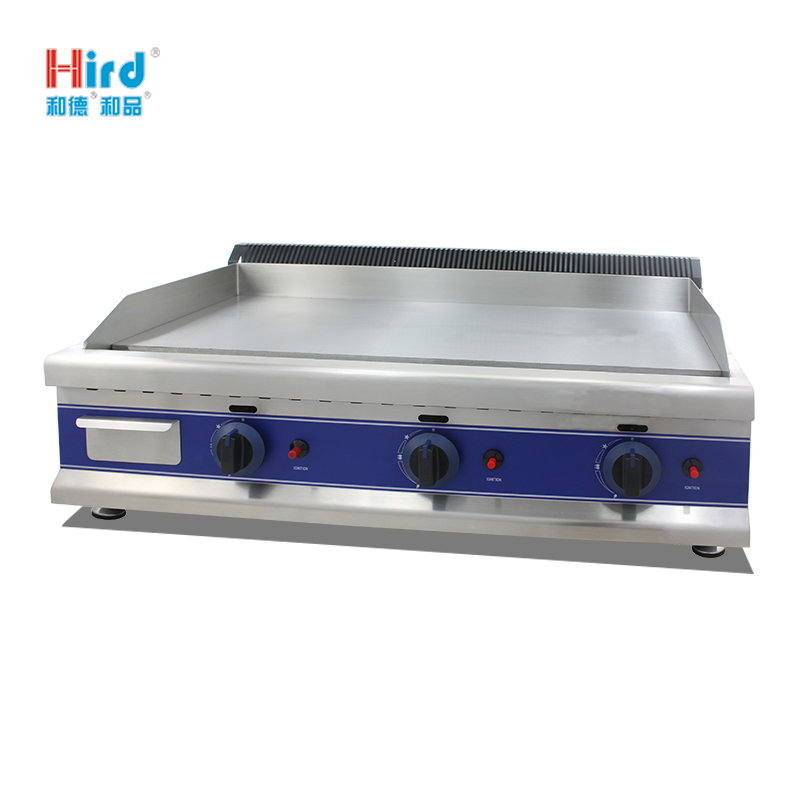 Hird HGT-900 Easy to clean large area Counter Top Gas Griddle