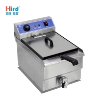 Hird WF-131V Easy to clean high quality Electric Fryer With Valve (Single Tank)
