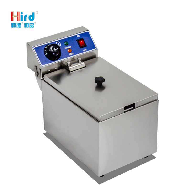 Hird wf-101G all stainless steel simple electric fryer durable and practical kitchen
