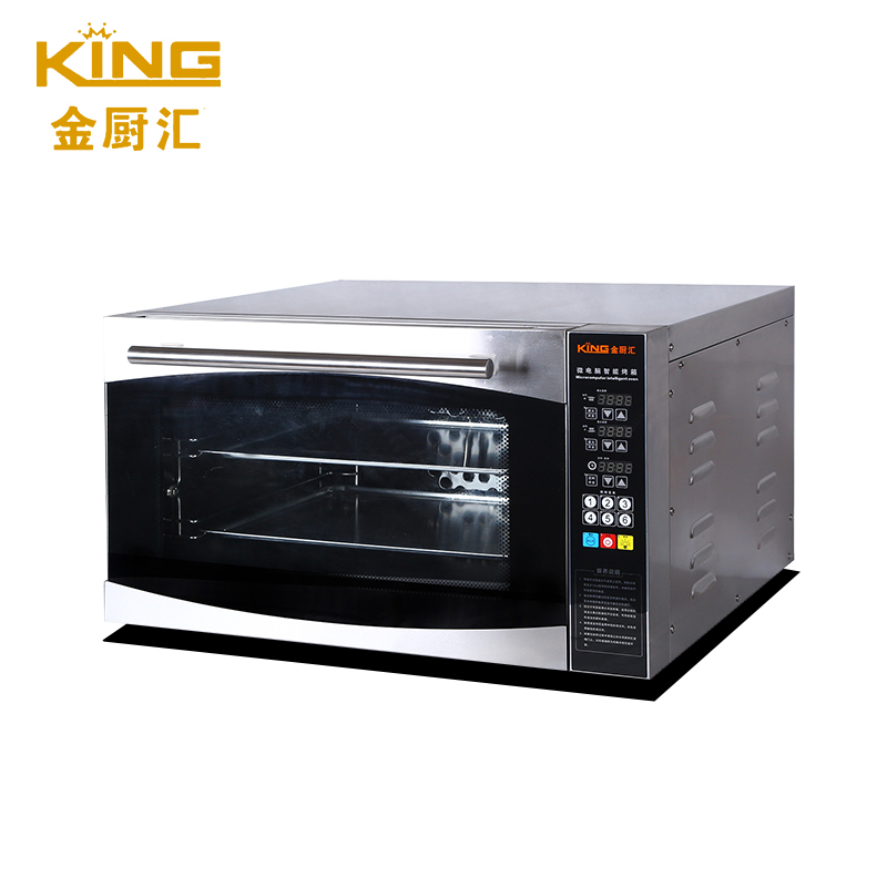 KING intelligent computer board temperature control electric oven pizza bread baking machine CK03D