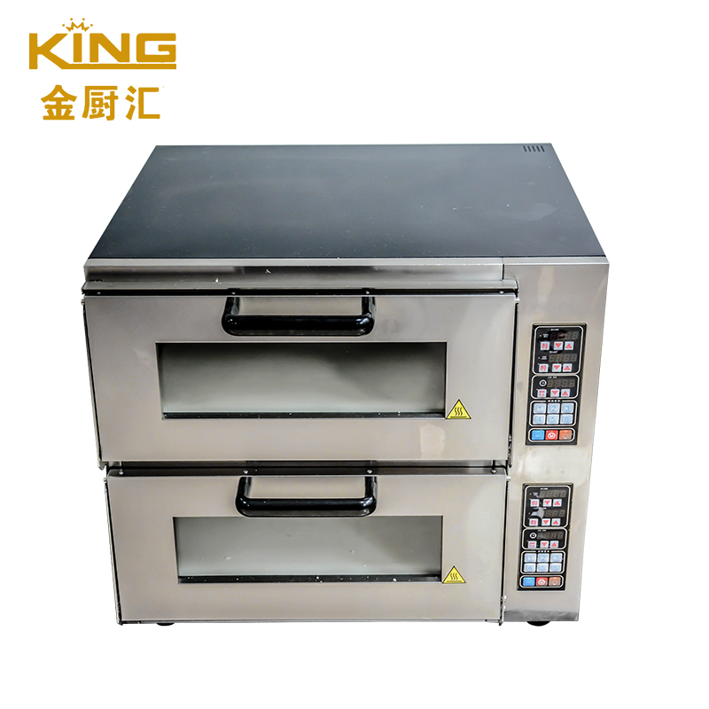 KING intelligent CNC custom menu intelligent baking electric oven pizza bread oven  CP04 Double laye