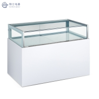 High end Beautiful Double Temperature Drawer Showcase CTG-1500B