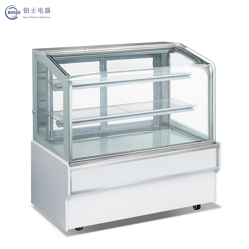 Bosee Xdh-1200A Large Vision Energy-Saving Slant Top Cake Cabinet