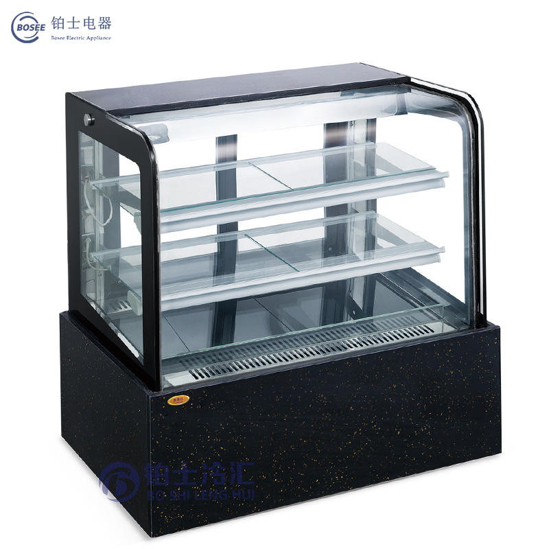 Bosee Sfg-900A Broad Vision and Energy Saving Square Cake Cabinet