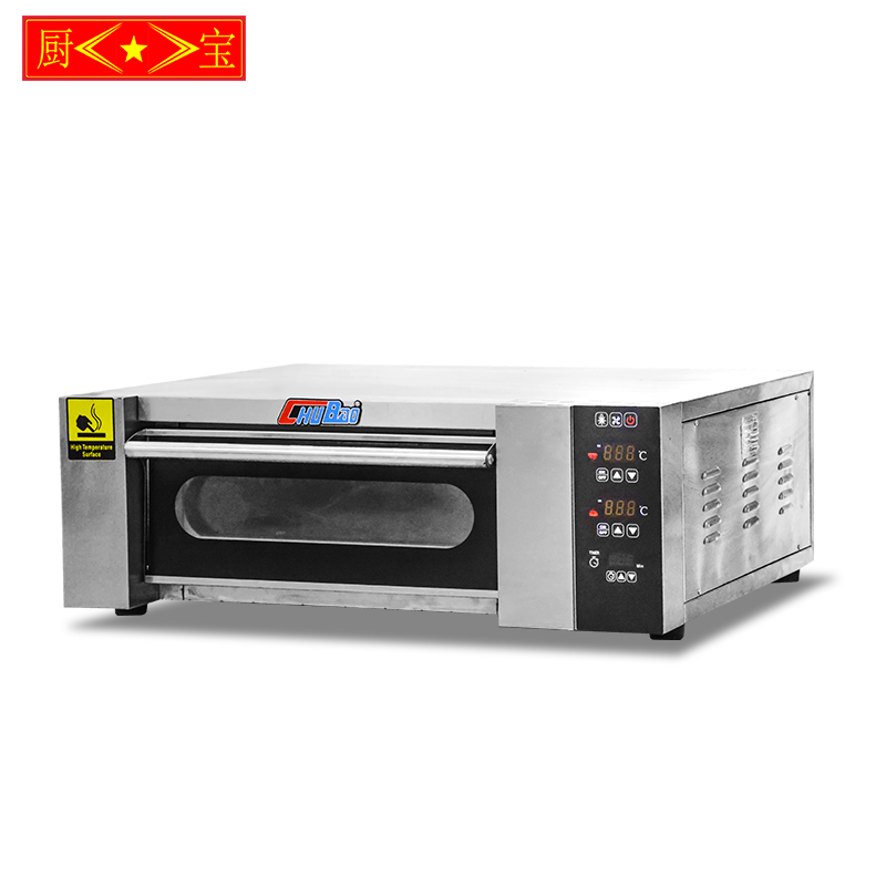 Chubao KA-101 Customizable gas or electricity factory price high quality single plate deck oven
