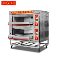 Chubao KB-20 2 layer 2 tray Customizable gas or electricity standard gas deck oven (B style)