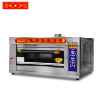 Chubao KB-10 1 layer 2 tray Customizable gas or electricity standard gas intelligent deck oven