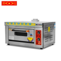 CHUBAO KB-101 Customizable gas or electricity Single plate deck oven