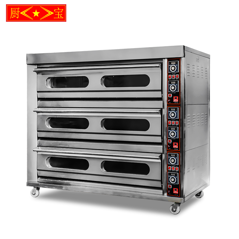 Chubao KA-30-9 Customizable gas or electricity high quality standard deck oven