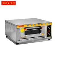 Chubao KA-101 Customizable gas or electricity single plate deck oven