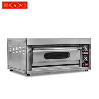Chubao KA-10 Customizable gas or electricity 1 layer 2 tray high quality deck oven