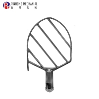 20KG (Type A) Food Machinery Egg beater Mixing accessories  flat beater for planetary mixer 201# mat