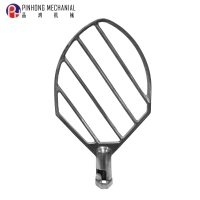 Pinhong 30KG Food Machinery Mixing accessories Egg beater flat beater for planetary mixer