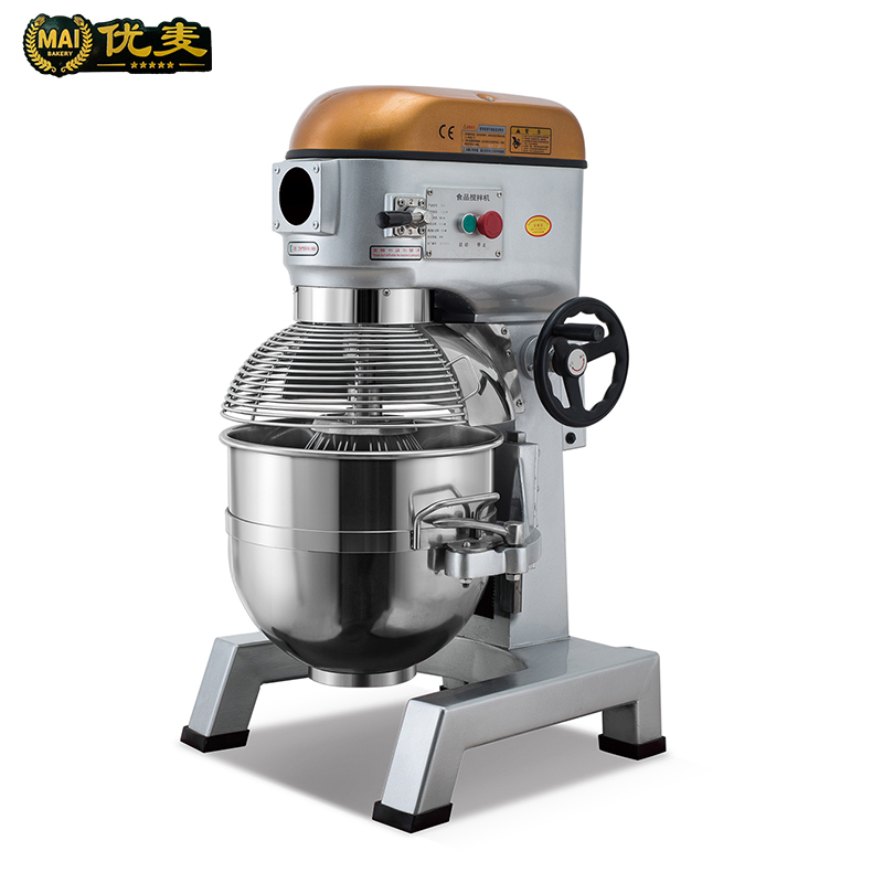 Planetary mixer food grade stainless steel three-speed shift YI-30