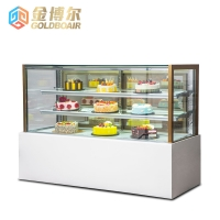 Right angle cake display cabinet CR3-210