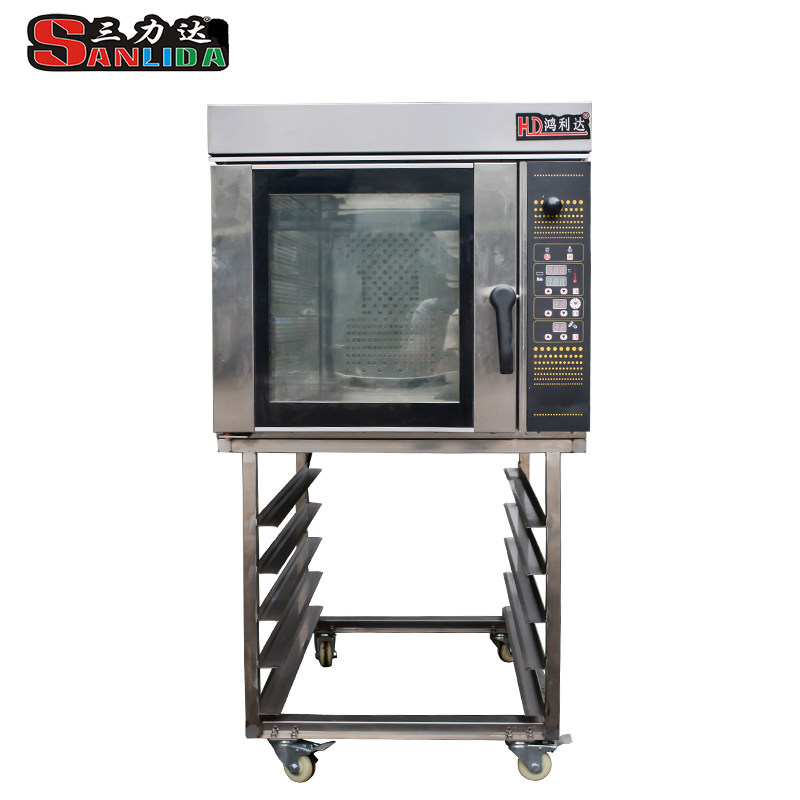 Stainless steel, evenly baked, single in place Hot air convection oven SLH-5K Gas type
