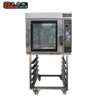 Stainless steel, evenly baked, single in place Hot air convection oven  SLH-8K Gas type