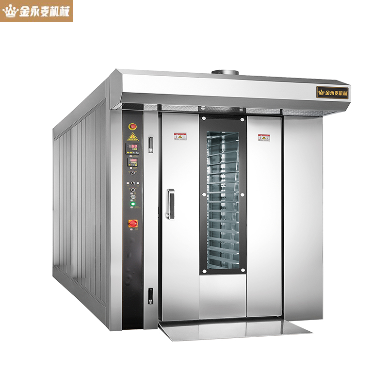 64 disks Baking equipment Hot air rotary furnace gas type Baking oven JYM-64Q