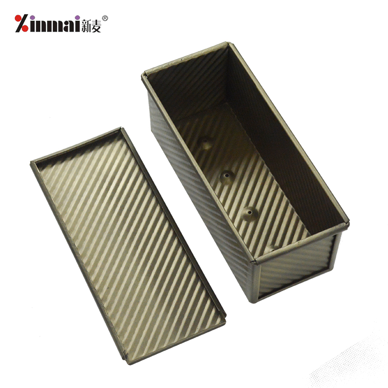 Factory direct sales Vienna Toast Box Corrugated aluminum alloy, non-stick XMC40011