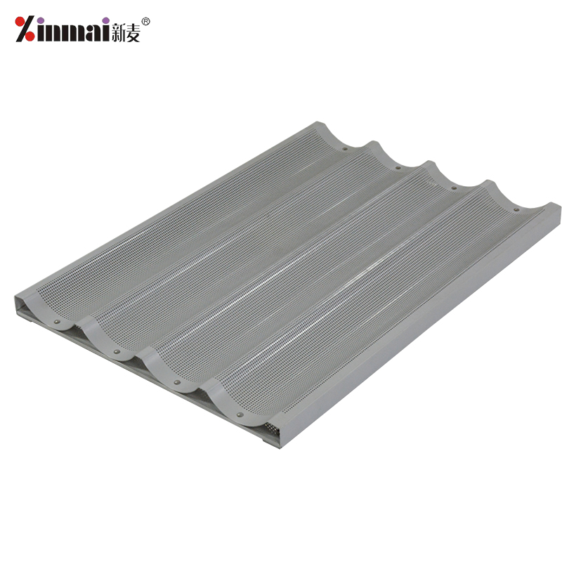 American style Aluminum alloy not stick 4-ROWS French baking tray French pan/baking tray XMF20020