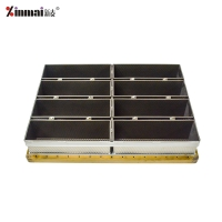 #5052Aluminum alloy high quality easy to clean 8 even slice toast box / bread tray XMC50020