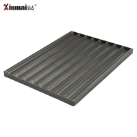 Aluminum alloy non-stick 8-slot French baking tray French baking tray/bakeware XMF20013