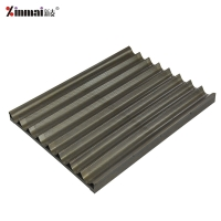 Aluminum alloy welded frame does not stick 8 slot French baking tray French pan/baking tray