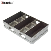 Lightweight and durable and energy saving #5052 aluminum alloy toast box/loaf pan XMC50018