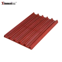 XINMAI Aluminum alloy welded frame does not stick 5 slot French baking tray French pan/baking tray