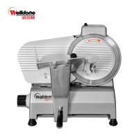 Wwlldone High quality material 10second semi-Automatic Meat SLICER WED-B250B-1