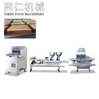 Toast (rock burning) two-color sandwich production line