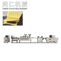 Toast 3+2 sandwich triangle package production line