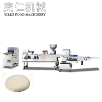 Multifunctional pocket bread production line