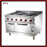 Energy saving Luxury gas stove Oven for cooking LGR-76EV