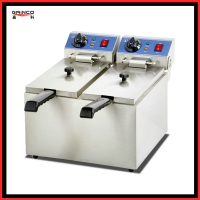 Stainless steel Fryer S/S 2-Tank Tank electric flyer EF-082